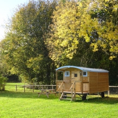 Bluebell Shepherd's Hut