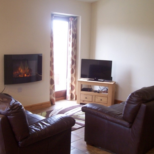 Lounge at Ellesmere Holiday Cottage